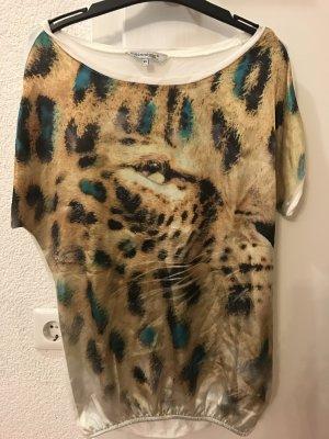 Tshirt mit Leo-Print
