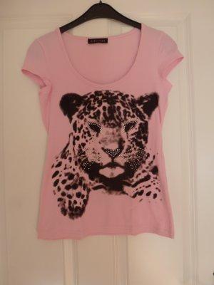 Tshirt mit Leopardenkopf