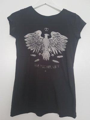 Tshirt mit Print und Nieten von ZARA
