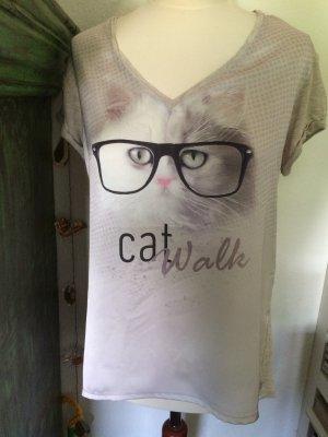 Tshirt mit Print von comma