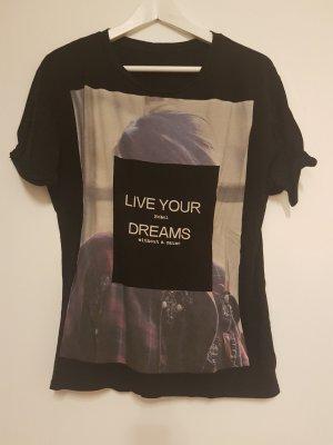 Tshirt mit Print von ZARA