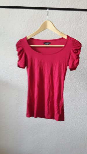 Tshirt mit Puffärmeln in Rot XS 34