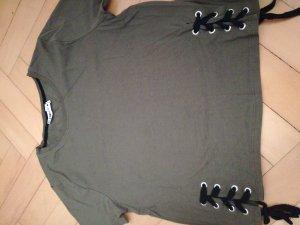 Tshirt mit Schnürung an der Seite