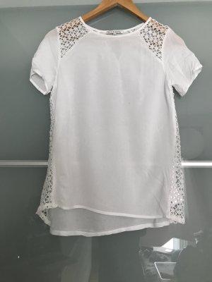 Tshirt mit strickeinsatz