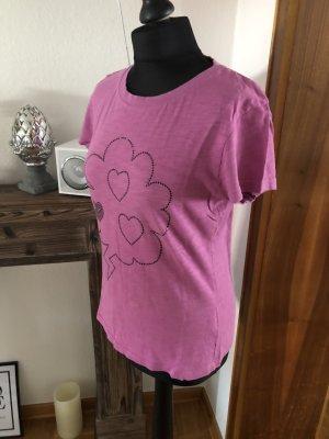 Tshirt pink lila