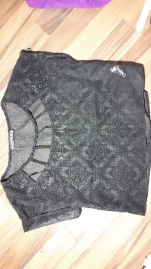 Tshirt schwarz gemustert