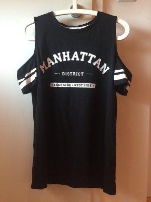 Tshirt schwarz mit Aufdruck