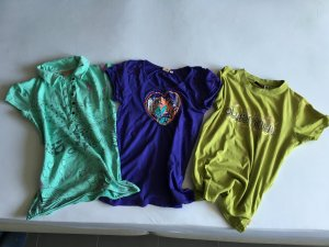 Tshirt set ripcurl roxy plus minus in xs/s