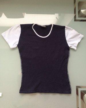 Tshirt Shirt Gr. XS S blau