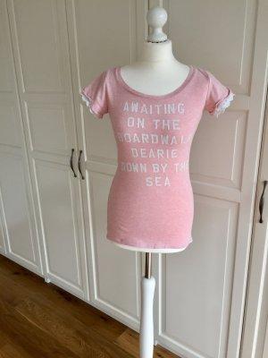 Tshirt Spitze Maison Scotch rosa petite