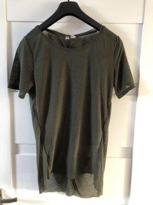 Tshirt transparent Khaki
