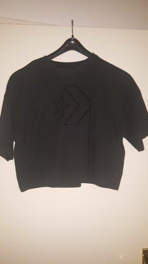Converse Shirt zwart