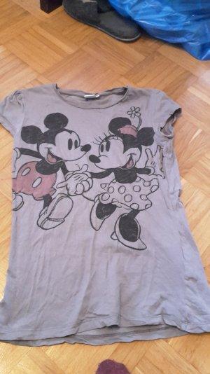 tshirt von disney mit minnie und mickey mouse