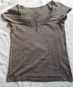 Tshirt von Esprit in khaki Farbe