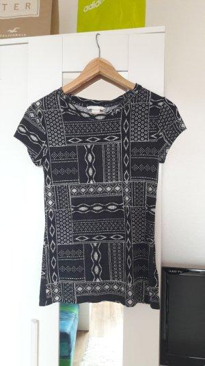 Tshirt von H&M Größe XS schwarz und weiß neu