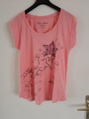 Tshirt von Pepe Jeans  in Pink Gr. M