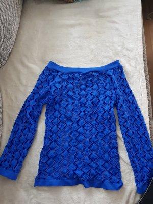 Camicia maglia blu