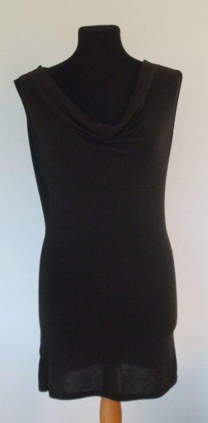 TU Kleid mit super Rückenansicht, Wasserfallkragen, Strickkleid, Gr. 34/36