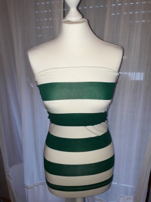 TRF Off-The-Shoulder Top white-forest green