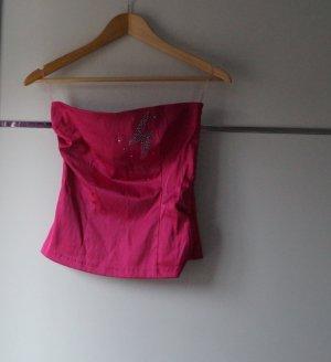 Tube Top rosa/Gr. XS