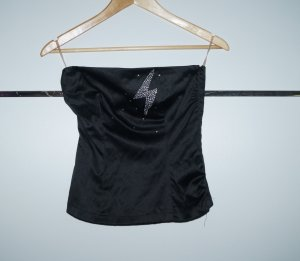 Tube Top schwarz/Gr. XS