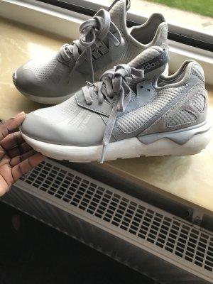 Adidas Originals Basket à lacet gris clair-blanc