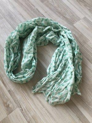 Foulard turquoise-vert menthe