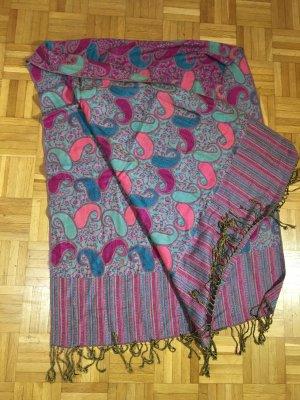 Scialle multicolore