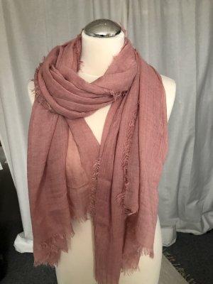 SusyMix Foulard vieux rose-rosé laine