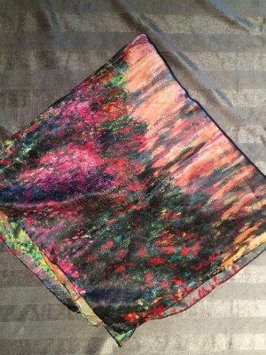 Tuch aus reiner Seide mit dem Bild von Claude Monet neu