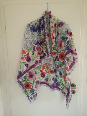 H&M Garden Collection Shoulder Scarf multicolored