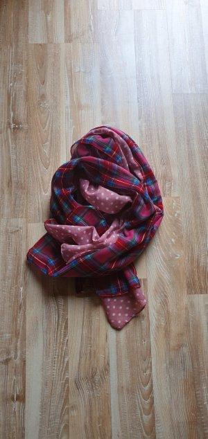 Foulard rouge framboise