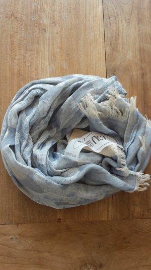 Tuch Codello neu blau beige weich
