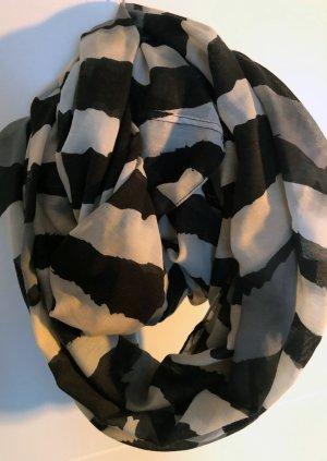 Fazzoletto da collo antracite Fibra tessile