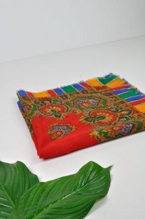 Vintage Châle multicolore