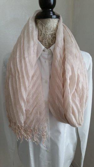 H&M Châle beige-rosé