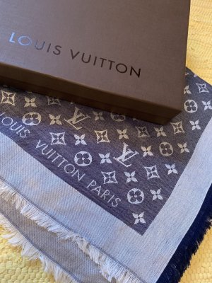 Louis Vuitton Doek blauw