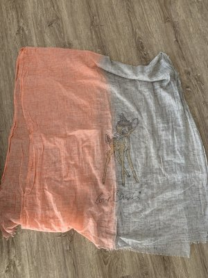 Codello Foulard gris clair-rose