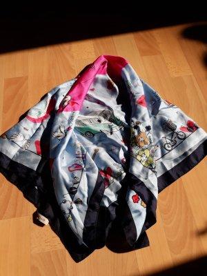 Codello Pañoleta azul celeste-rosa