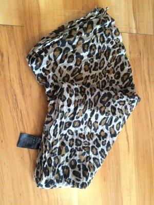 Tuch mit Leopardenmuster