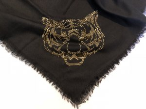 Bijou Brigitte Neckerchief black-gold-colored