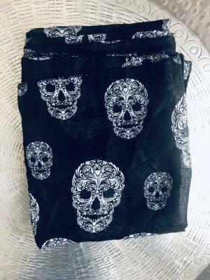 H&M Pañoleta negro-blanco