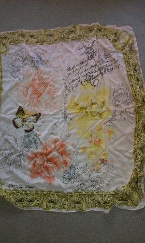 notthesame Zijden sjaal veelkleurig