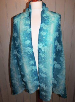 Halsdoek cadet blauw-grijs-groen Polyester
