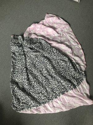 Plomo o plata Châle au tricot multicolore coton