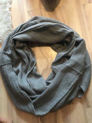 Tuch Schal grau dünn one size Halstuch Schlauchschal