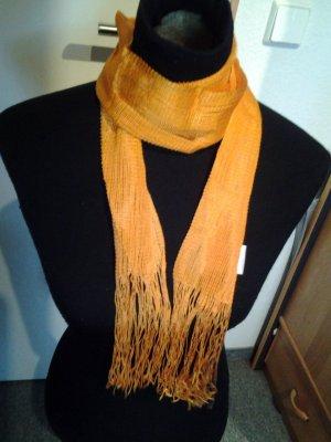 Tuch/Schal - orange - Fransen - Pieces by Bestseller