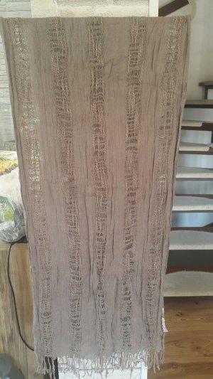Tuch, Schal Promod, Länge 176 cm zzgl. Fransen