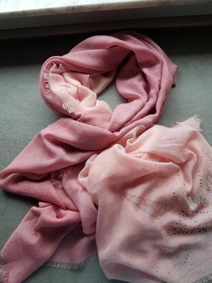Cartoon Woolen Scarf pink
