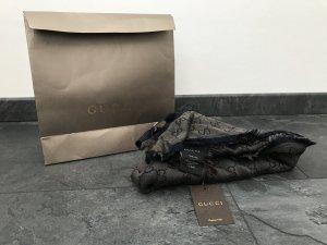 Tuch/Schal von Gucci, beige/braun/dunkelblau